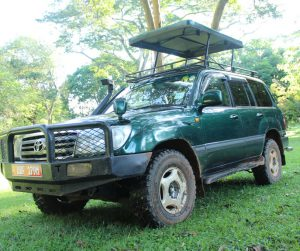 Land Cruiser with Pop-Up Roof
