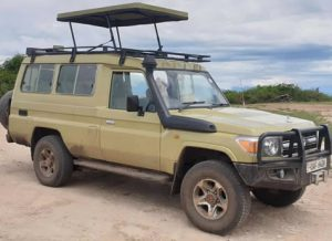 Land cruiser Hardtop with Popup roof