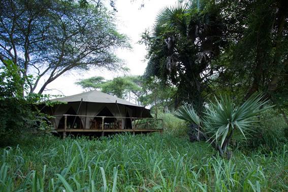 Palahala-camp: Katavi National Park