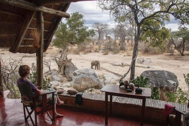 Mwagusi camp Ruaha