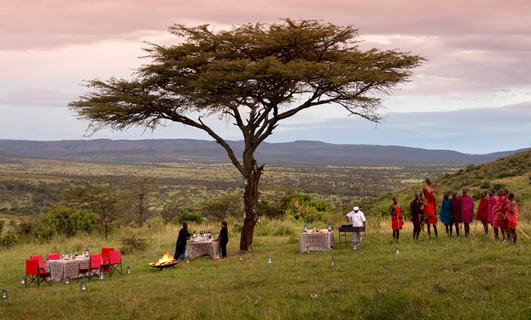 Bush Breakfast - Tanzania safari