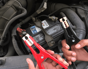 The right way to jump-start a dead car battery